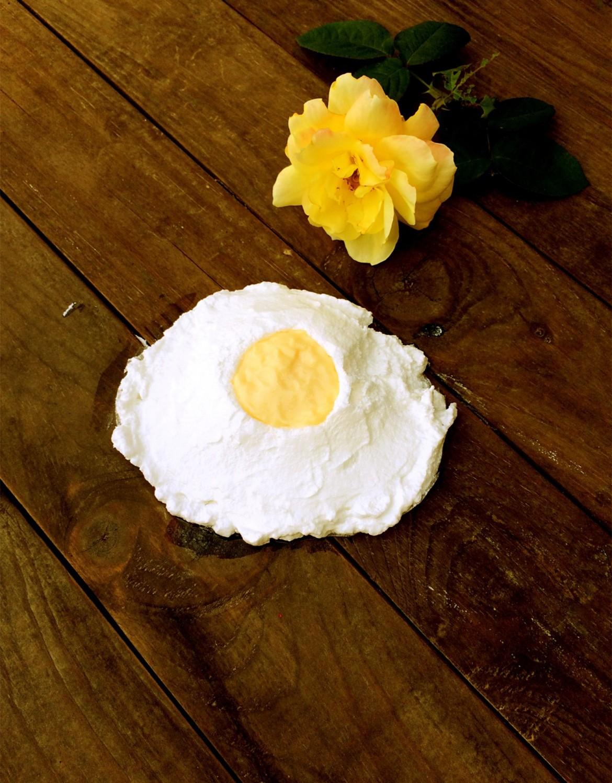 huevo merengue y crema catalana